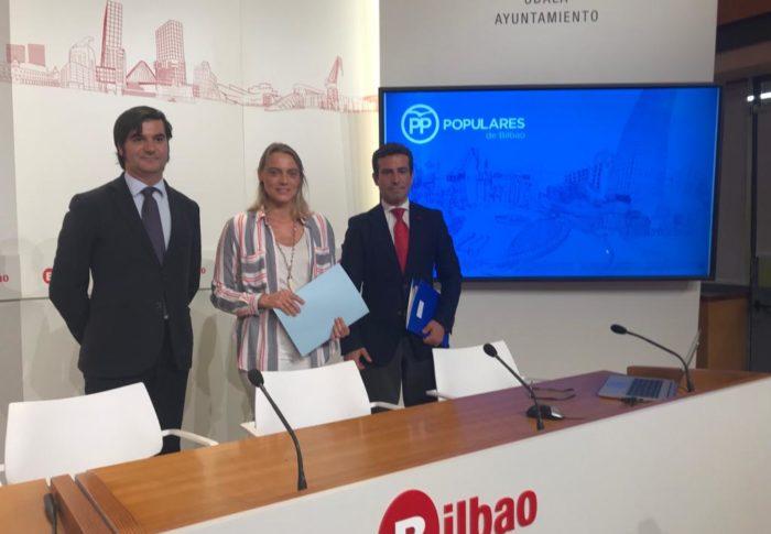 El PP insta al Ayuntamiento de Bilbao a que se una al manifiesto en defensa de la libre disposición de los remanentes municipales
