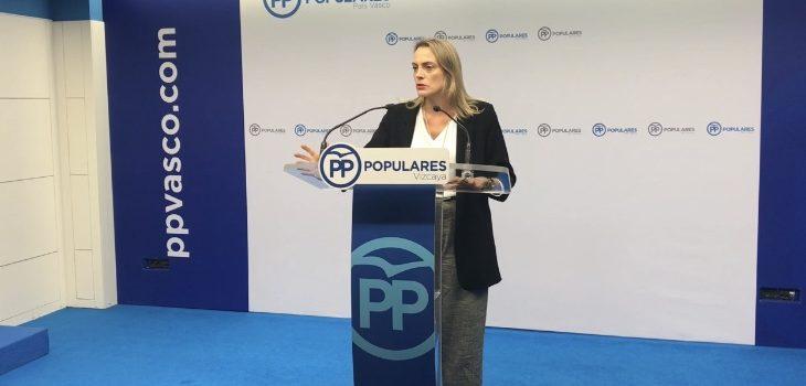"""Raquel González: """"El PP hará frente a PNV para impedir que el Euskoprocés llegue al País Vasco, que está igual que Cataluña hace tres años"""